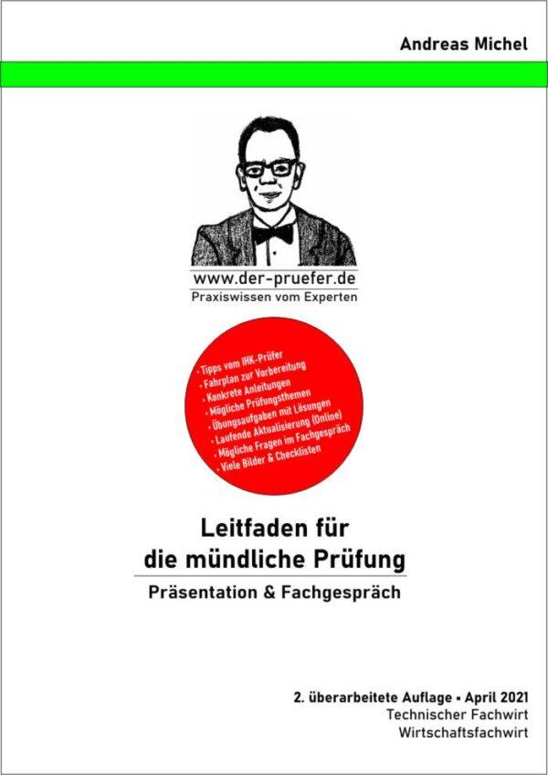 Buch Präsentation Fachgespräch Praktische Prüfung
